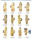 QF系列乙炔气瓶阀系列,瓶阀