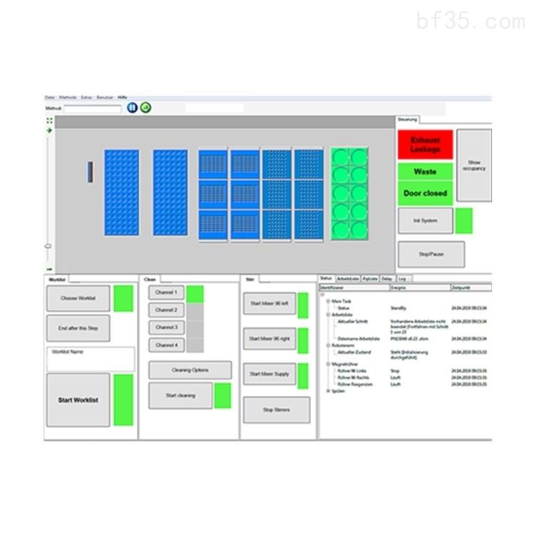 德国高通量实验室自动化解决系统