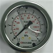 DMASS压力表 充液抗震油压表