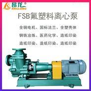 FSB氟塑料离心泵 工程塑料耐腐蚀化工泵