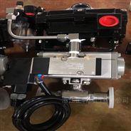 Q681F氣動快裝式衛生級球閥
