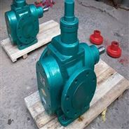 胶类保温齿轮泵 寒冷地区圆弧保温泵