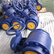 Q347TC蜗轮陶瓷球阀