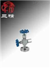 J49H针型阀:压力计针型阀