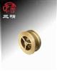 H71H/W止回阀:对夹升降式全铜止回阀